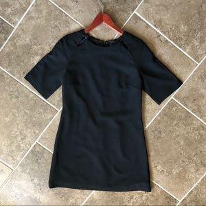Bordeaux Black Dress, Size: M